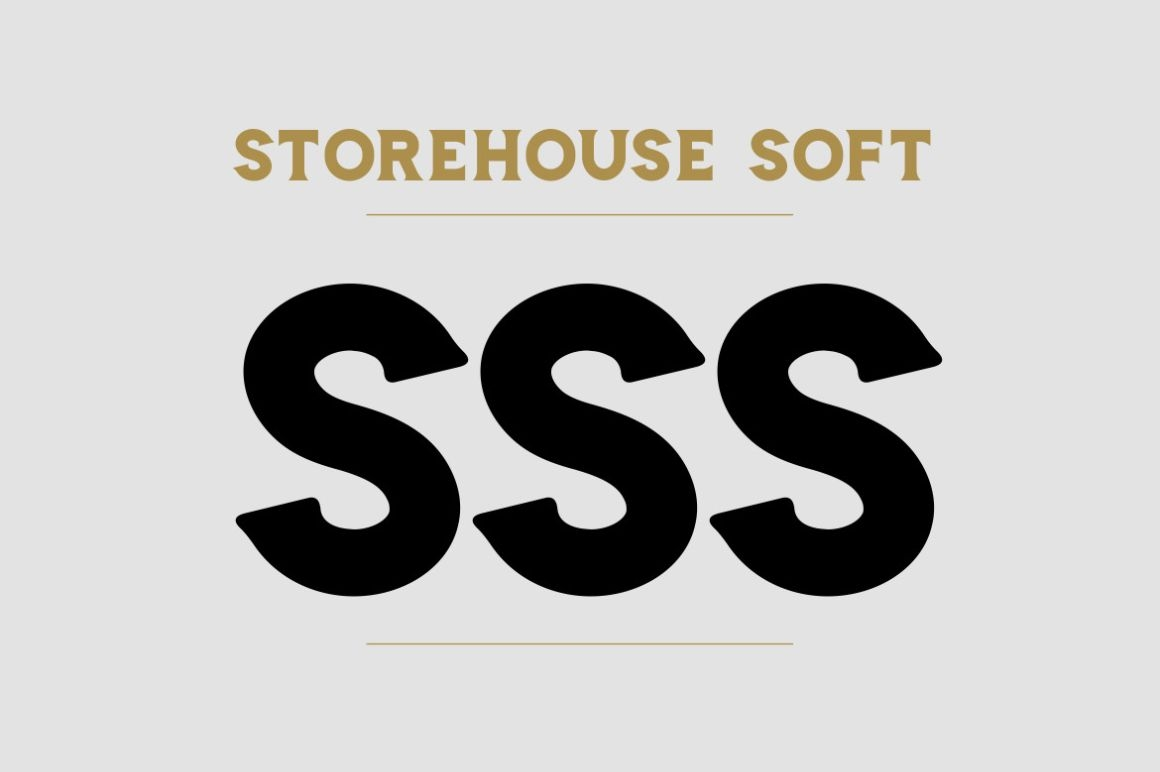 Storehouse Font / Display - FontPlanet