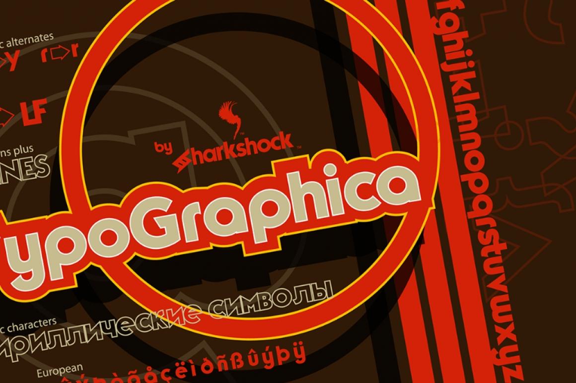 TypoGraphica Font / Sans Serif - FontPlanet