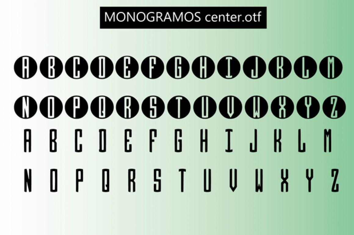 Monogramos / Symbols - FontPlanet
