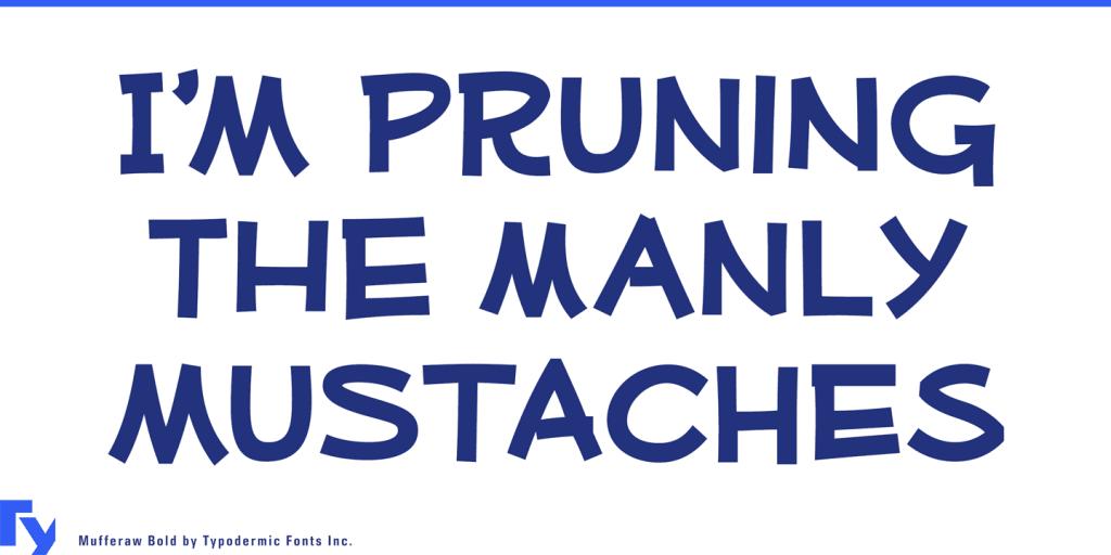 mufferaw font