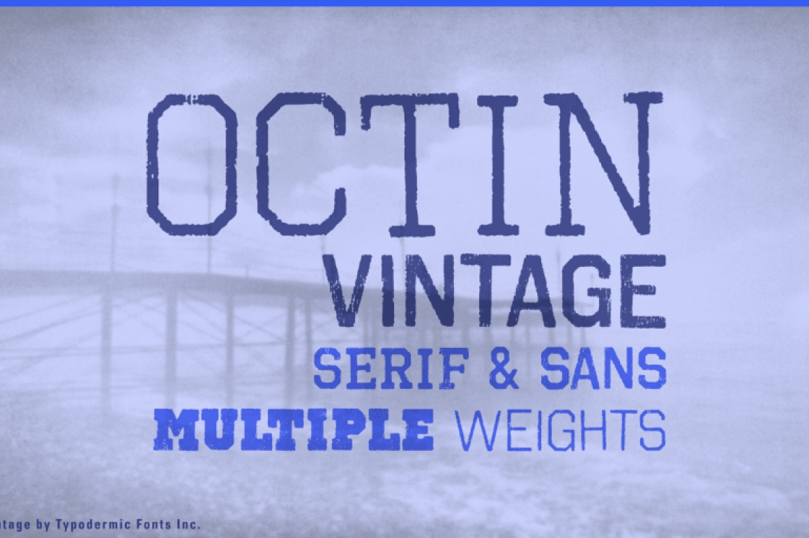 Octin vintage is perfect for police sports prison construction school or military themes