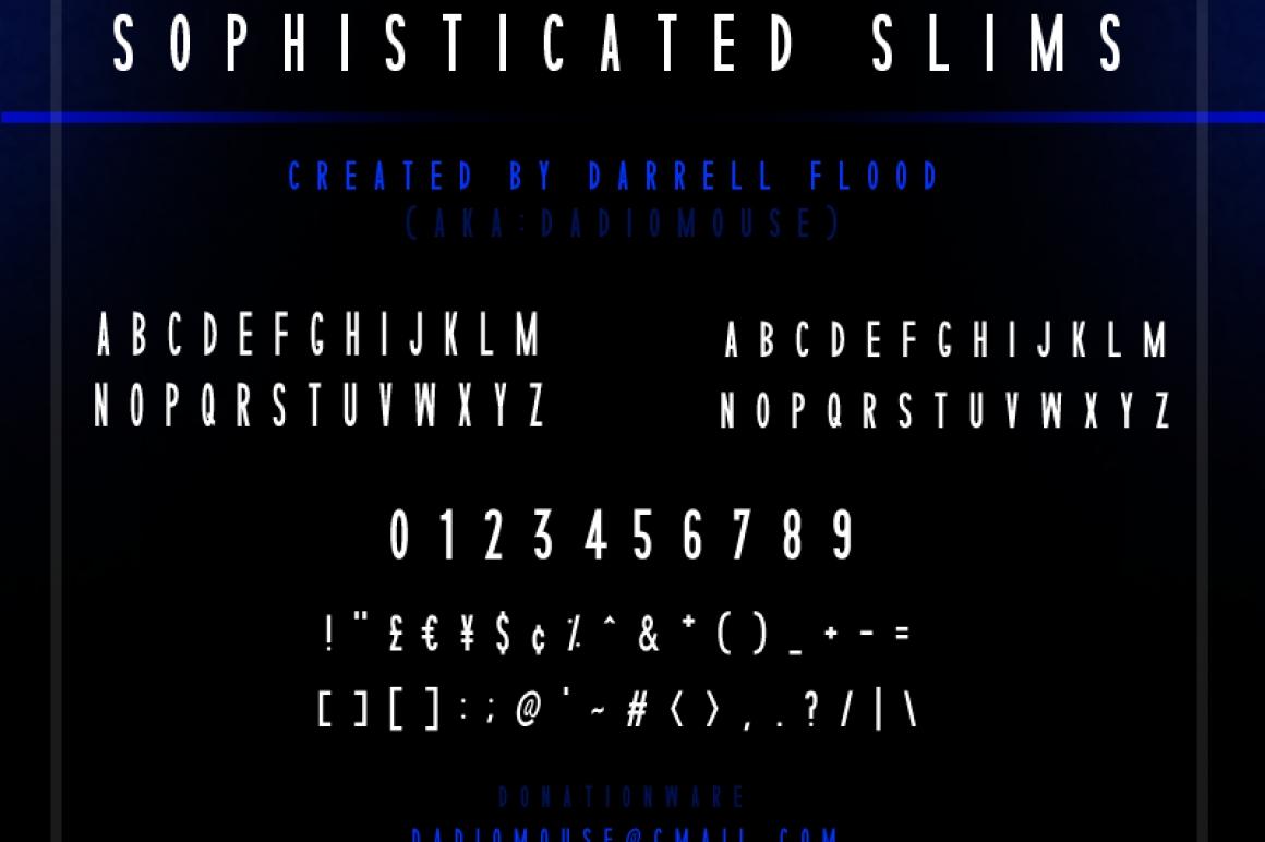 Sophisticated Font / Sans Serif - FontPlanet